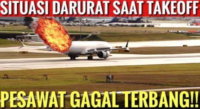 Mengapa Pesawat Gagal Take Off? Ini Penjelasan Kapten Vincent Raditya!