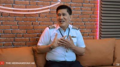Pengalaman Paling Mengerikan Kapten Edward Limbong saat Terbangkan Pesawat