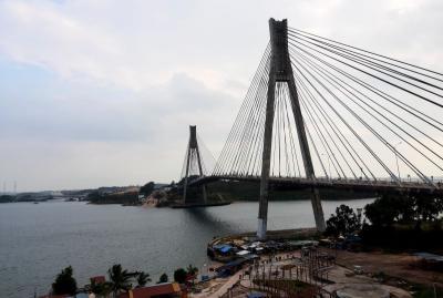 Menikmati Pemandangan Kota Batam dari Barelang Bridge, Instagramable
