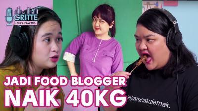 Curhat Food Vlogger ke Gritte Agatha: Berat Badanku Naik 40 Kg