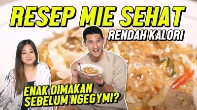 J Ryan Karsten Ajak Becca Top 7 MasterChef Indonesia Masak Mie Diet, Seperti Apa Ya?