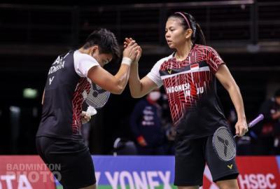 Ditaklukkan Wakil Korea, Greysia Apriyani Gugur dari Thailand Open 2021