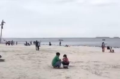 Viral Pantai Pasir Putih di Jakarta, Serasa di New Zealand