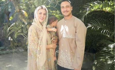 Bukan Daddy, Raisa Ajari Sang Putri Panggil Hamish Daud Bapak