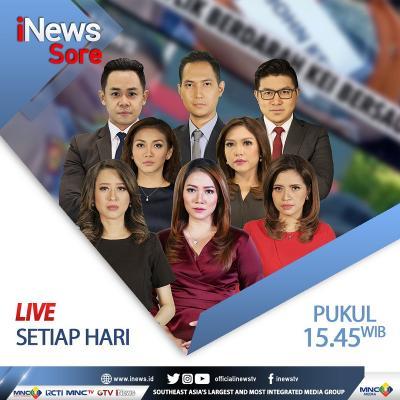 """iNews Sore"""" Live di iNews dan RCTI+ Minggu Pukul 16.00: DKI Krisis Lahan Pemakaman"""