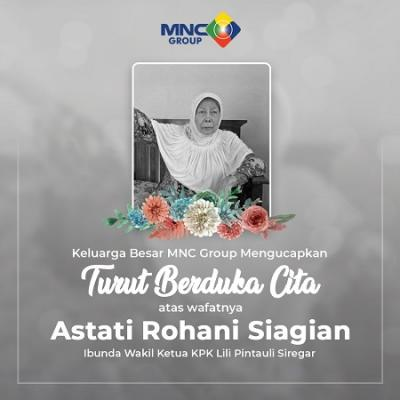 Ibunda Wakil Ketua KPK Lili Pintauli Siregar Wafat, Hary Tanoesoedibjo: MNC Group Turut Berduka