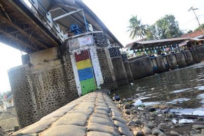 Pintu Air Pasar Ikan Jakut Berstatus Siaga II
