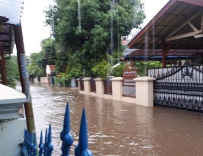 Hujan Lebat, Tiga Kecamatan Bekasi Terendam Banjir