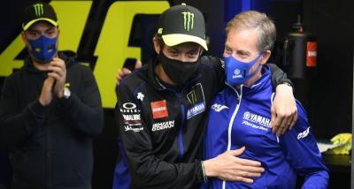 Soal Perpisahan Valentino Rossi dengan Tim Pabrikan, Lin Jarvis: Itu Momen Tak Biasa
