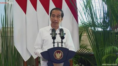 Presiden Jokowi Sambut Bank Syariah Terbesar RI Februari 2021