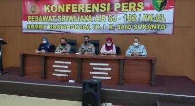 Total 53 Korban Sriwijaya Air SJ-182 Berhasil Teridentifikasi
