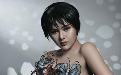 Cantiknya Amanda Manopo Pakai Dress Kupu-Kupu, Netizen: Mirip Yuni Shara!