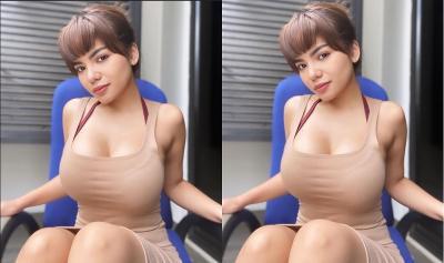 5 Potret Seksi Dinar Candy yang Ngebet Cari Pacar Sewaan