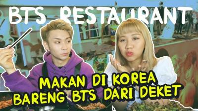 Berkunjung ke Restoran Favorit Personil BTS di Korea