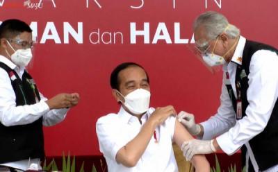 Besok, Presiden Jokowi Dijadwalkan Terima Vaksinasi Kedua