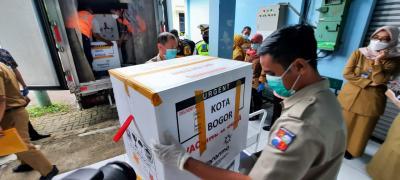 9.160 Dosis Vaksin Tahap Kedua Datang ke Kota Bogor