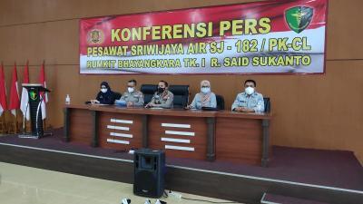 DVI Polri Kembali Identifikasi 2 Korban Sriwijaya Air, Total Jadi 55 Orang