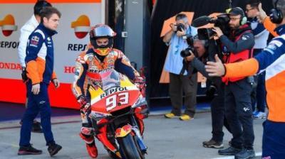 Tak Kunjung Pulih, Honda Kirim Tim untuk Selidiki Cedera Marc Marquez