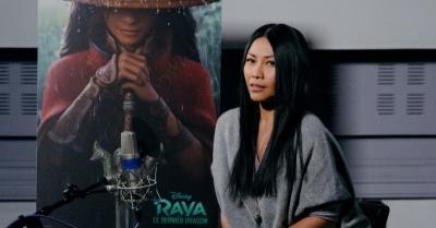 "Ikut Isi Suara Animasi ""Raya and the Last Dragon"", Anggun Merasa Terhormat"