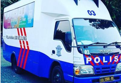 Berikut Lokasi Pelayanan SIM Keliling di Jakarta dan Sekitarnya