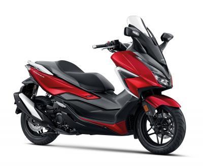 Wow, Honda Forza Tampil Lebih Segar