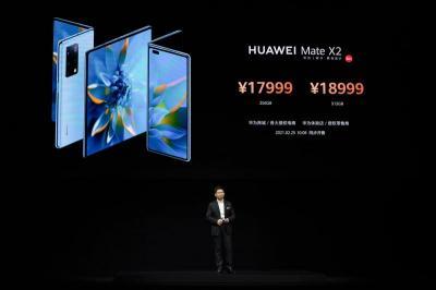 Huawei Resmi Luncurkan Mate X2, Ponsel Lipat Generasi Baru