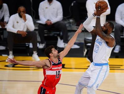 Hasil Pertandingan NBA 2020-2021 Hari Ini: LA Lakers Kalah Tipis dari Washington Wizards