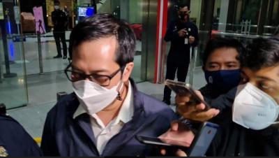 Politikus PDIP Ihsan Yunus Irit Bicara Usai Diperiksa KPK