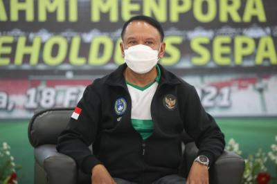 Gelar Rakor, Menpora Tinggal Nantikan Keputusan Polri soal Izin Kompetisi IBL 2021