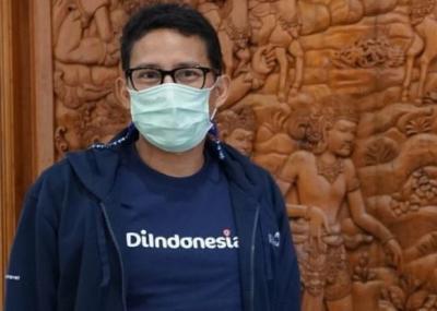 Vaksinasi Covid-19 Digelar di 5 Kawasan Wisata Bali, Ini Harapan Sandiaga Uno