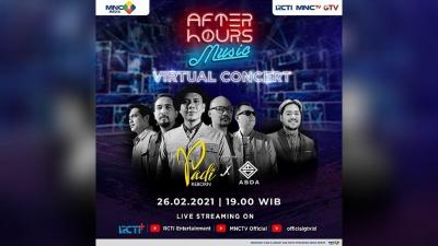 Padi Reborn x Abda Ramaikan After Hours Music Secara Virtual