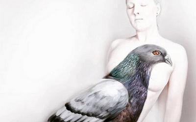 Unik, Seniman Ini Jadikan Tubuh Manusia Kanvas Lukisannya