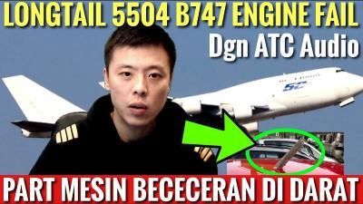 Insiden Pesawat Terbakar dan  Serpihannya Jatuh Menimpa Mobil, Kok Bisa?