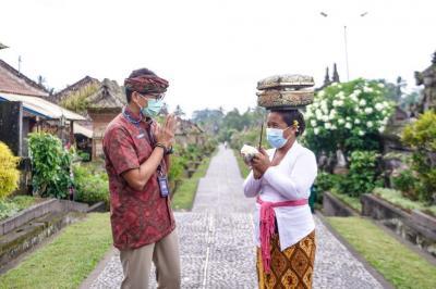 Sandiaga Uno: 177 Desa Wisata di Bali Direvitalisasi dengan Program Padat Karya