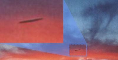 Heboh! Pilot Lihat Benda Asing Terbang di Atas Pesawatnya, UFO?