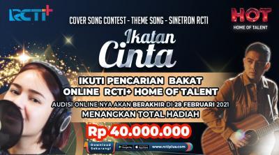 Yuk Cepetan Ikut Kompetisi Cover Lagu Tanpa Batas Waktu, Audisi Online Berakhir 2 Hari Lagi !