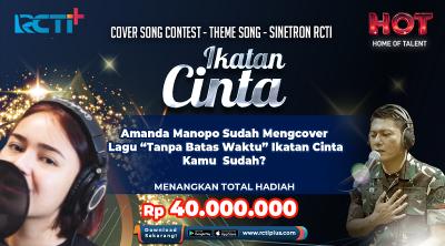 Amanda Manopo Sudah Meng-cover Lagu Tanpa Batas Waktu, Kamu Sudah?