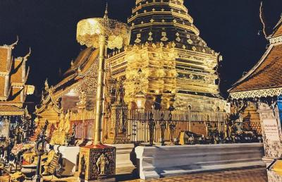 Misteri Legenda Naga dan Patung Gajah Putih di Kuil