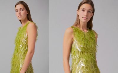 Ramah Lingkungan, Rumbai Payet Gaun Ini Terbuat dari Alga