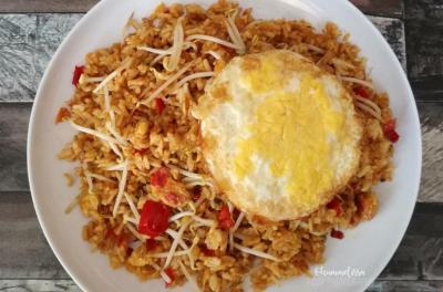 Resep Nasi Goreng Tauge dan Bakwan Sayur, Praktis Banget