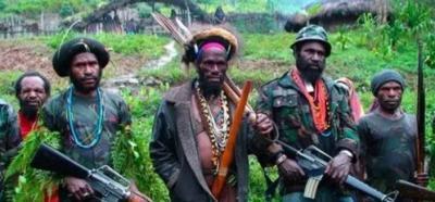Pasukan TNI AD Baku Tembak dengan KKB Pimpinan Joni Botak di Hutan Belantara
