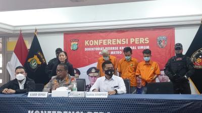 Tak Kapok, 3 Residivis Curanmor Kembali Ditangkap Polisi