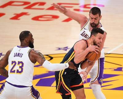 Hasil Pertandingan NBA 2020-2021 Hari Ini, LA Lakers Bantai Golden State Warriors