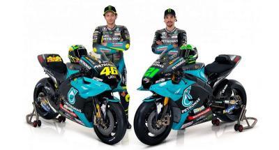 Petronas Yamaha Resmi Rilis Motor Balap Valentino Rossi dan Morbidelli untuk MotoGP 2021