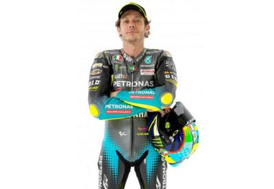 Intip Foto-Foto Valentino Rossi Tampil Perdana dengan Seragam Petronas Yamaha SRT