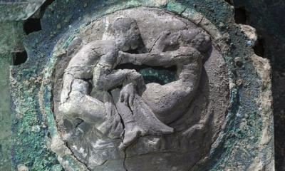 Kereta Upacara Romawi Berusia 2.000 Tahun Ditemukan