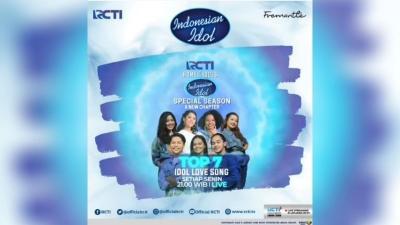 Spektakuler Show Indonesian Idol Malam Ini Akan Penuh Cinta