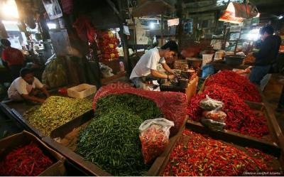 Pedagang Menjerit: Bingung Jual Harga Cabai Rp150.000