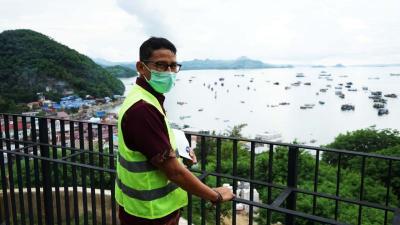 Libur Cuti Bersama Dikurangi, Sandiaga Uno Optimistis Kebijakan Tak Pengaruhi Jumlah Kunjungan Wisatawan