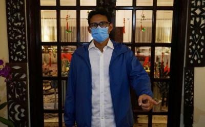 Realisasi Free Covid Corridors, Sandiaga Uno Dorong Vaksinasi 120.000 Pelaku Usaha Parekraf di Nusa Dua dan Ubud Bali